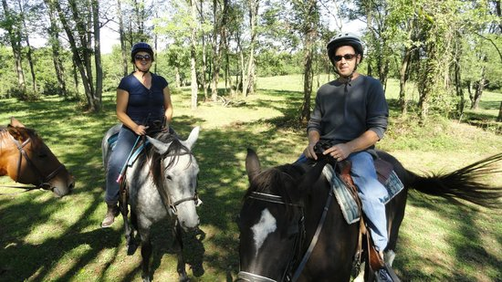 First Farm Inn:                   Free style ride in the pasture