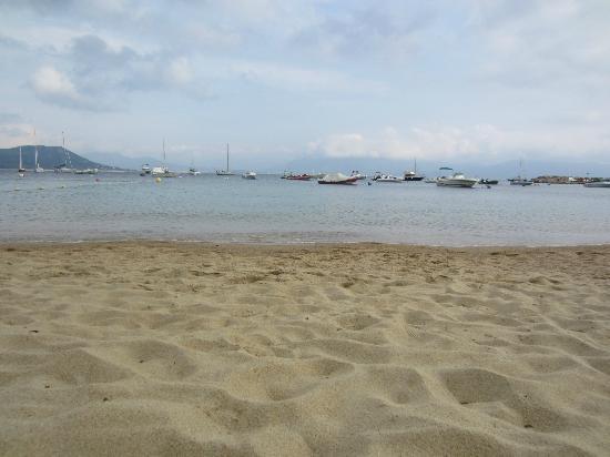 Hôtel Les Eucalyptus : plage