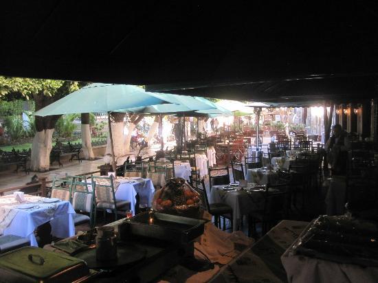 هوتل بوسادا سانتا في: Restaurante 