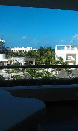 Beloved Playa Mujeres: View from balcony