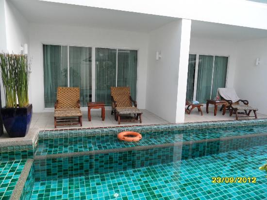 Chanalai Romantica Resort: swim from your room