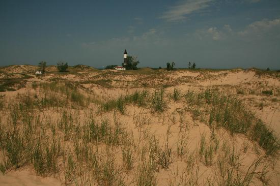 Ludington State Park: Dune Trail to Lighthouse