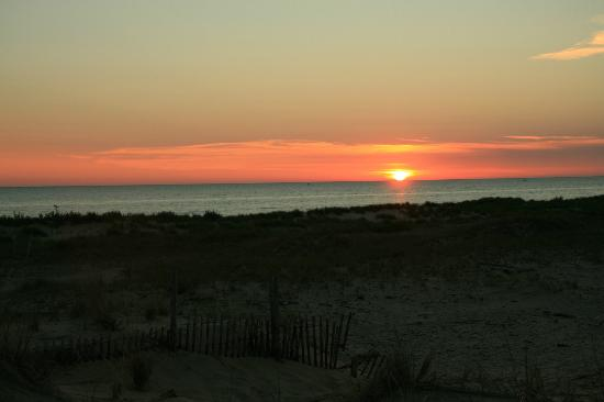 Ludington State Park: Lake Michigan sunset