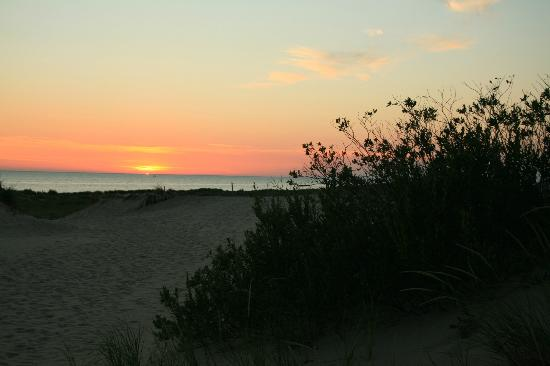 Ludington State Park: Just another Lake Michigan sunset