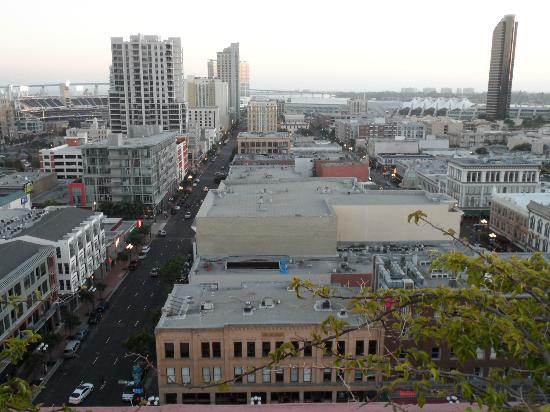 Ramada Gaslamp Convention Center: View from the roof.