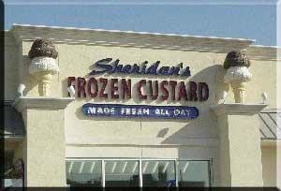 Sheridan's Frozen Custard: Sign