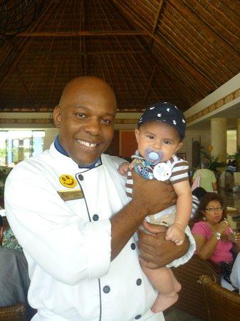 Grand Bahia Principe Coba: El Chef Jean Luc el mejor del htl