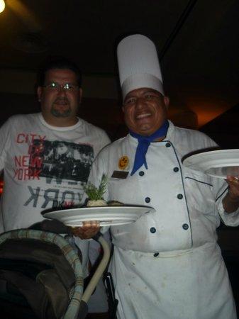 Grand Bahia Principe Coba: El chef consintiendonos