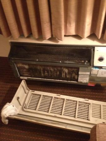 Quality Inn & Suites: the ac after cleaning