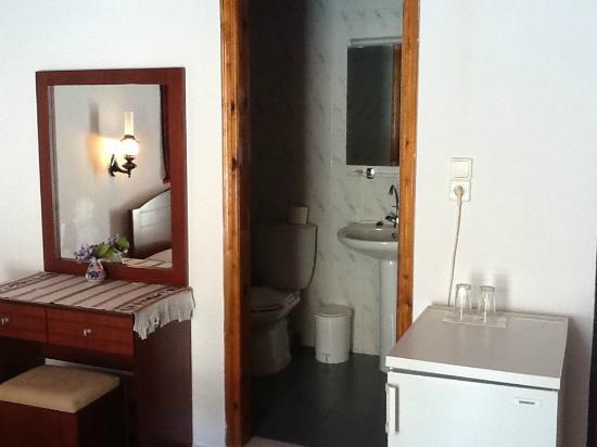 Daskalogiannis Hotel : Bathroom