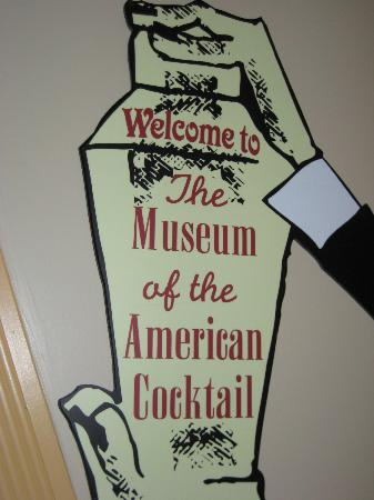 Southern Food and Beverage Museum: Sign inside