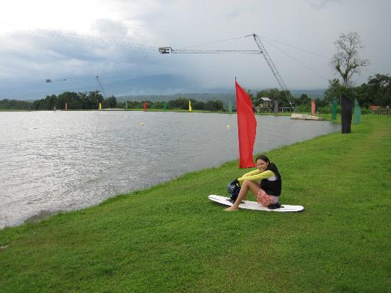 DECA Wakeboard Park: the long walk back can be tiring