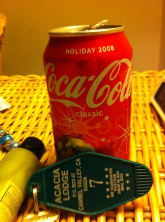 Country Garden Inns: 2008 coke in the vending machine, stop at the local grocer, liquor store or gas station!