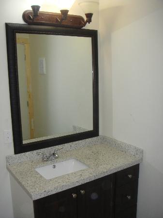 Quesnel, Kanada: bathroom