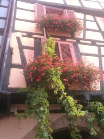 Hotel Restaurant Au Dolder : ホテルの窓