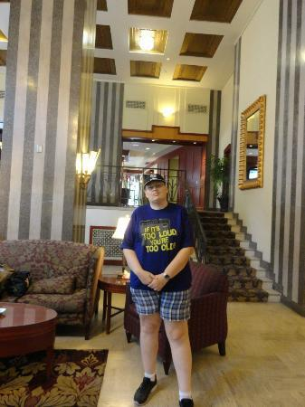 Residence Inn Memphis Downtown : No lobby do hotel