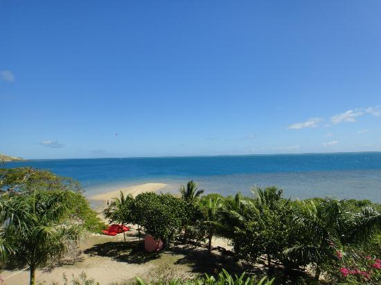 Volivoli Beach Resort Fiji: View from our Bure