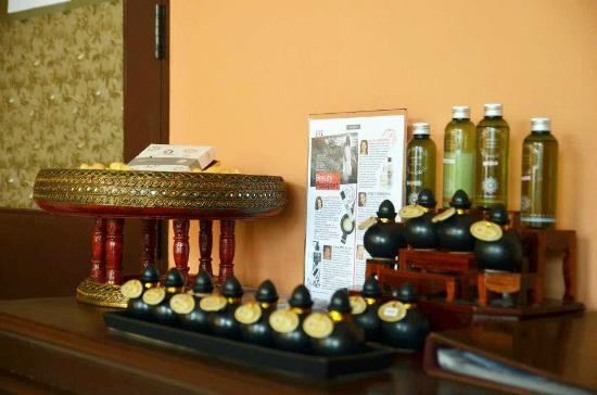 Sukko Cultural Spa & Wellness Resort: Spa Products