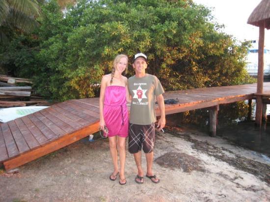 Bahia Tortuga: Sweet dock to jump off