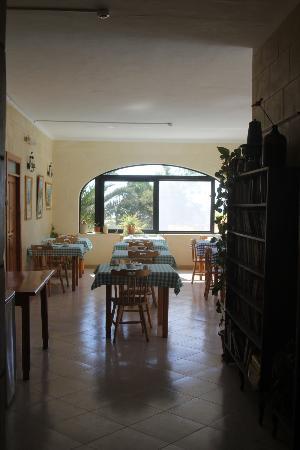 San Antonio Guesthouse: Breakfast room