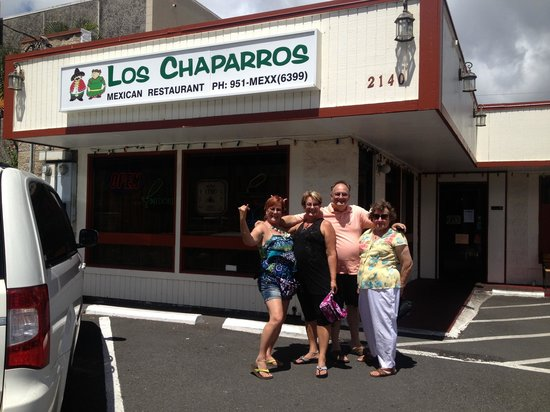 Los Chaparros Mexican Restaurant Great Food