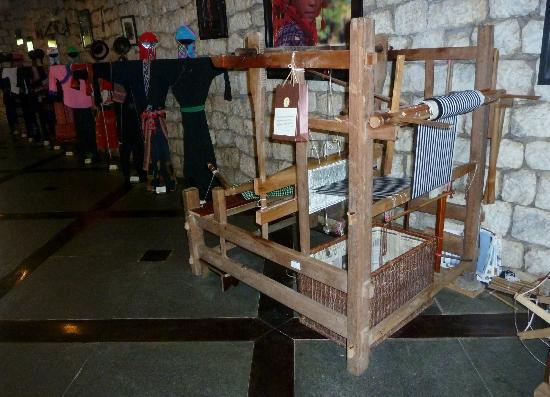 Victoria Sapa Resort and Spa: Loom in Reception