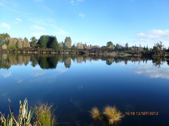 Cosy Kiwi B&B: Ivon Wilson Park Te Anau