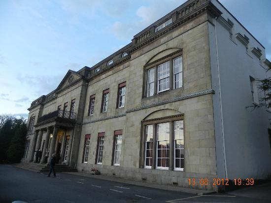 Shrigley Hall Hotel, Golf & Country Club: The front of the hotel