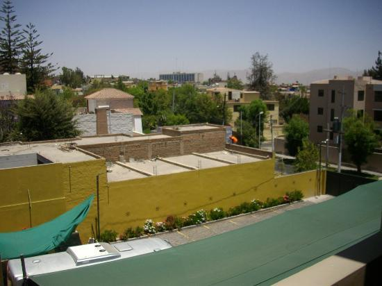El Cabildo: Vista do apartamento