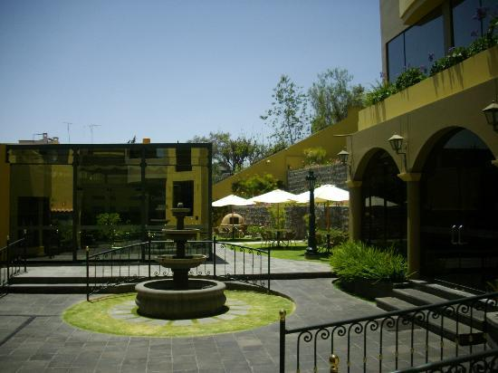 El Cabildo: Pátio interno