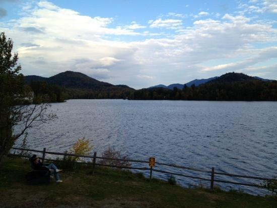 Inn at Twaalfskill: Mirror Lake in Lake Placid, NY