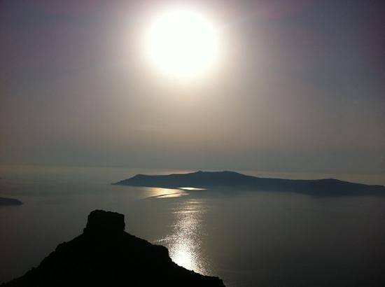 Imerovigli, Grekland: Tramonto