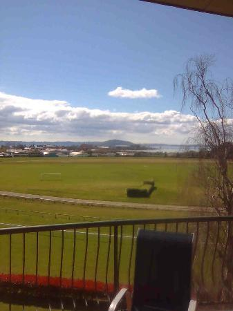 Rydges Rotorua: View from balcony Room 413