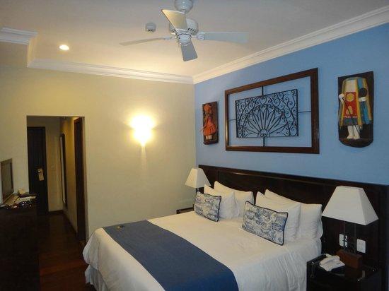 Hotel Casa do Amarelindo : cama cómoda