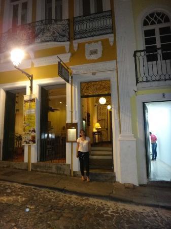Hotel Casa do Amarelindo : entrada principal