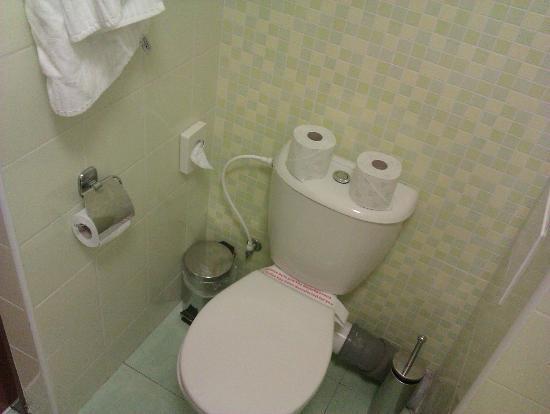Hotel Sitno: Toilet