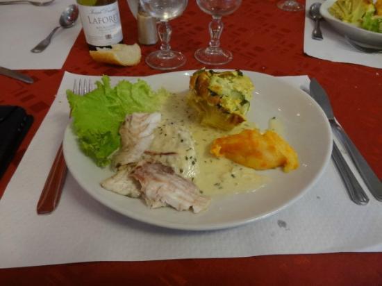 Hotel Restaurant Les Oceanides: Filet de poisson