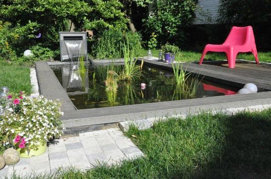 Entre Cour et Jardin: Le bassin