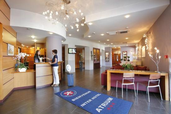 inter hotel atrium limoges frankrig hotel anmeldelser sammenligning af priser tripadvisor. Black Bedroom Furniture Sets. Home Design Ideas