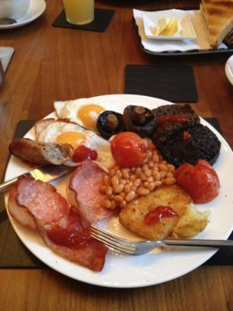 The Bank Guest House: all freshly cooked local produce