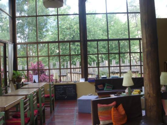The Green House Peru: Esos ventanales con vista al jardín y a la montañas son increíbles.