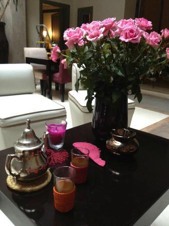 Riad Dar One: Afternoon tea