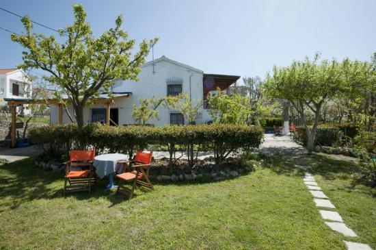 Samothraki-Vacations: AIOLIS-ROOMS: you can enjoy your breakfast / lunch etc here