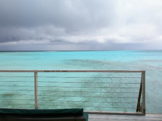 Reethi Beach Resort: vue de la chambre