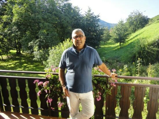 Faxe Schwarzwaelder Hof: Io sulla veranda
