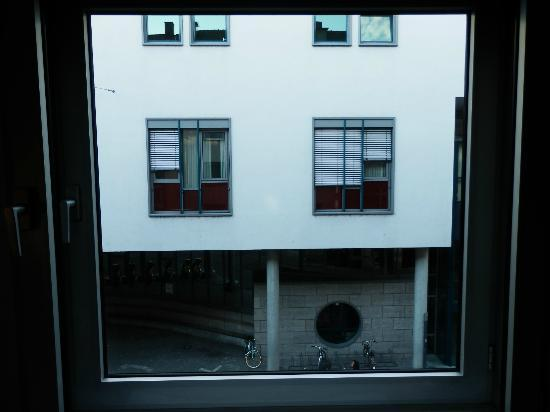 Central Hotel: view from window