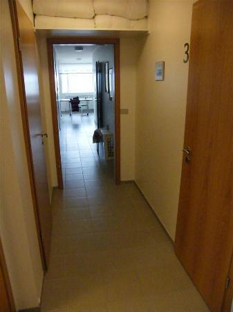 Kopasker, Iceland: Passageway in hostel