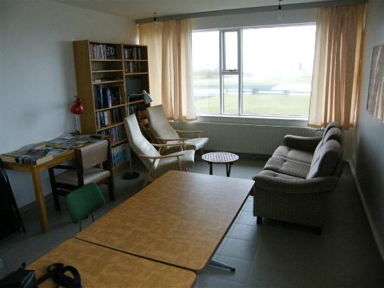 Kopasker, Iceland: Lounge area