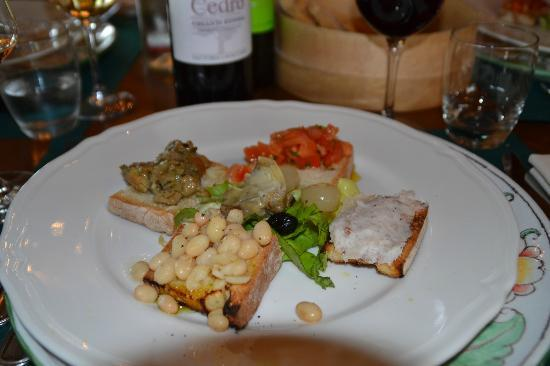 Fattoria Lavacchio: bruschette