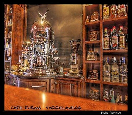 Fusion Cafe : Barra fusion